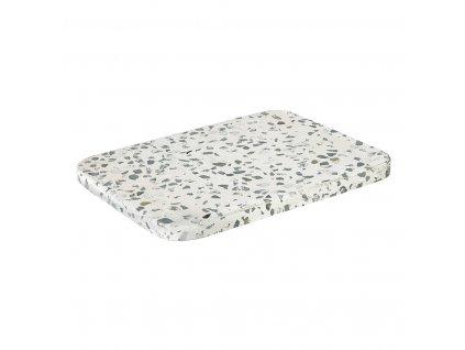 Podložka OMEO bílá 20 x 15 cm