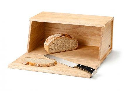 Chlebník s krájecím prkénkem Continenta 40 x 26 x 18,5 cm