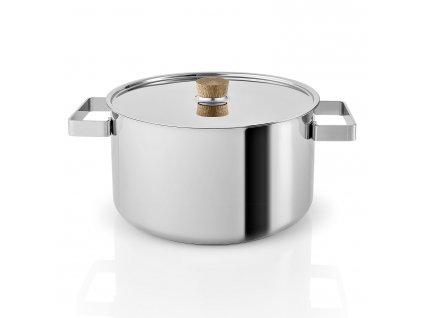 Hrnec s poklicí Nordic kitchen nerez Ø 24 cm