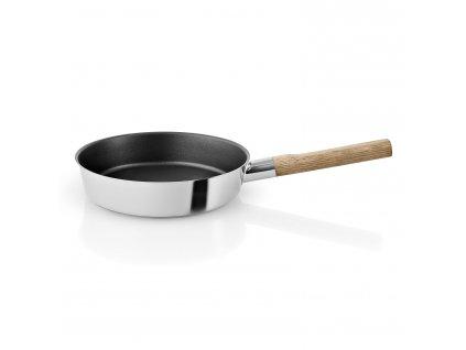 Pánev s dřevěnou rukojetí Nordic kitchen nerez Ø 24 cm Eva Solo
