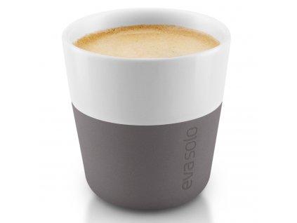 Termošálky na espresso 80 ml 2 kusy šedé
