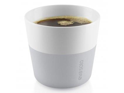 Termohrnky na kávu Lungo 230 ml 2 kusy světle šedé Eva Solo