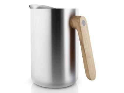Vakuová termoska s dřevěnou rukojetí Nordic kitchen nerez 1,0 l