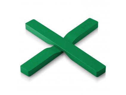 Magnetická podložka pod hrnec zelená