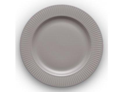 Talíř jídelní Legio Nova grey Ø 25 cm