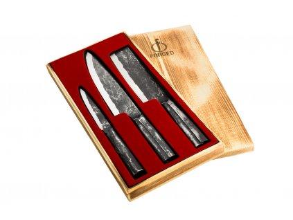 Sada nožů Forged Brute 3 ks