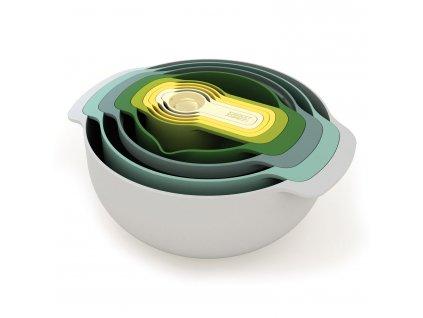 Sada stohovatelných mís a odměrek Opal Nest™ 9 Plus Joseph Joseph