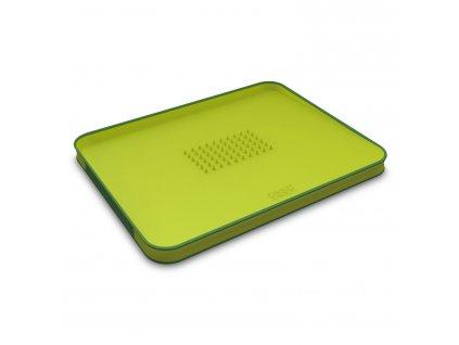 Multifunkční krájecí prkénko s výstupky velké zelené Cut&Carve™ Plus Joseph Joseph