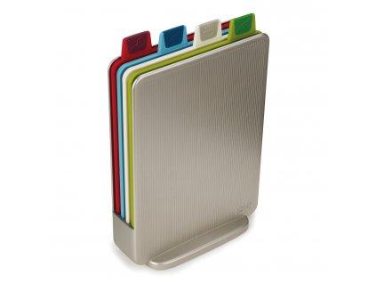 Stojan s prkénky mini 20,5 x 15 cm stříbrný Index™