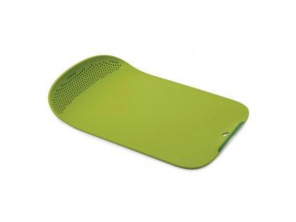 Prkénko s cedníkem zelené Chop&Drain™