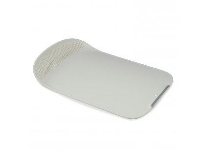 Prkénko s cedníkem bílé Chop&Drain™