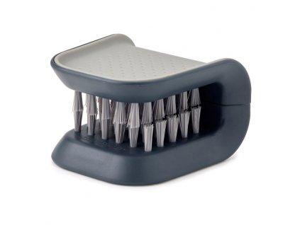 Kartáč na nože a příbory šedý BladeBrush™