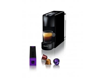 Kávovar na kapsle KRUPS Essenza Mini černý