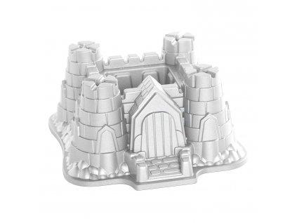 Forma na bábovku hrad Castle Bundt® stříbrná