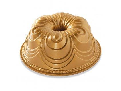 Forma na bábovku Chiffon Bundt® zlatá Nordic Ware