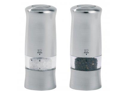 Dárkový set elektrických mlýnků na pepř a sůl ZELI Peugeot