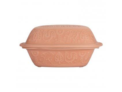 Římský hrnec s víkem velký Klassik přírodní® Römertopf
