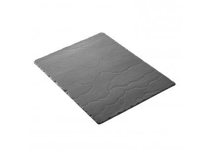 Podnos obdélníkový velký Basalt 40 x 30 cm
