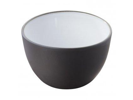 Miska na salát V 0,3 l Likid & Solid, uvnitř bílá glazura