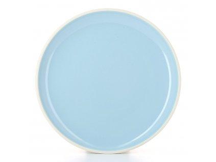 Talíř dezertní Ø 20 cm modrá Fjord Color Lab