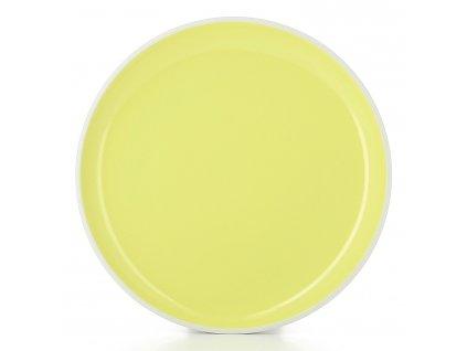 Talíř na hlavní chod Ø 25 cm žlutá Citrus Color Lab