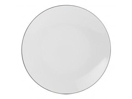 Talíř na hlavní chod Ø 24 cm White Cumulus Equinoxe