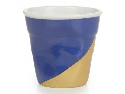 Kelímek na espresso 8 cl Twist Blue Up Froissés