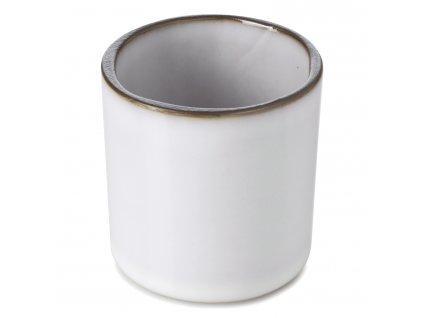 Kelímek na kávu/čaj bílý White Cumulus CARACTERE