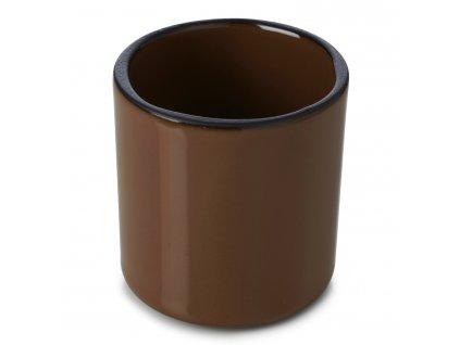 Kelímek na kávu/čaj hnědý Tonka CARACTERE REVOL