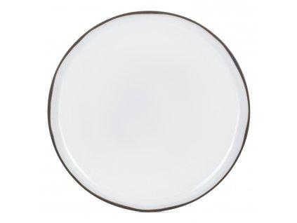 Jídelní talíř bílý White Cumulus CARACTERE