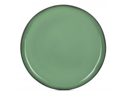Jídelní talíř mátový Mint CARACTERE REVOL