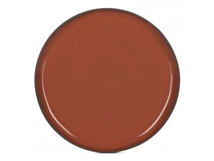 Jídelní talíř skořicový Cinnamon CARACTERE