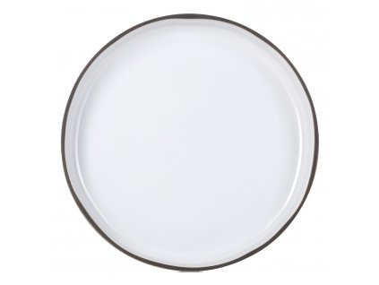 Jídelní talíř GOURMET bílý White Cumulus CARACTERE