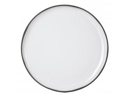 Dezertní talíř bílý White Cumulus CARACTERE
