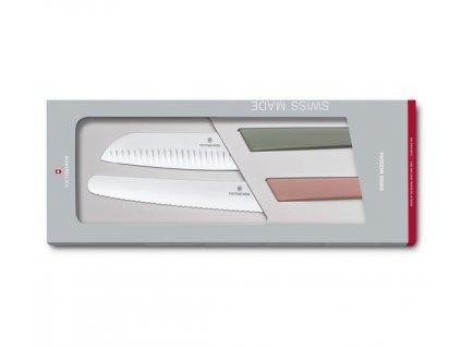 Sada nožů Victorinox Swiss Modern 2 ks barevná