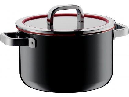 Hrnec 24 cm FUSIONTEC Functional černý