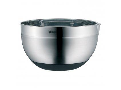 Kuchyňská nerezová miska se silikonovým dnem Ø 20 cm