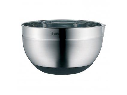 Kuchyňská nerezová miska O 22 cm se silikonovým dnem WMF