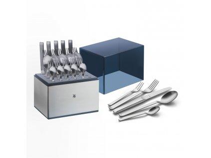 Příbor Iconic Cromargan protect®: set 30 kusů s úložným boxem