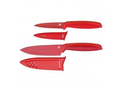 Sada kuchyňských nožů 2dílná červená Touch