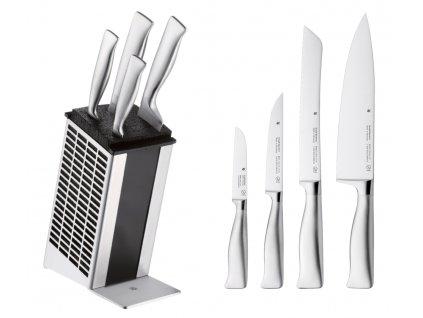 Sada nožů s blokem Grand Gourmet 5dílná PC WMF