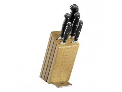 6dílná sada nožů s blokem dub Spitzenklasse Plus PC