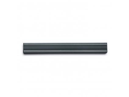 Magnetická lišta na nože 35 cm černá