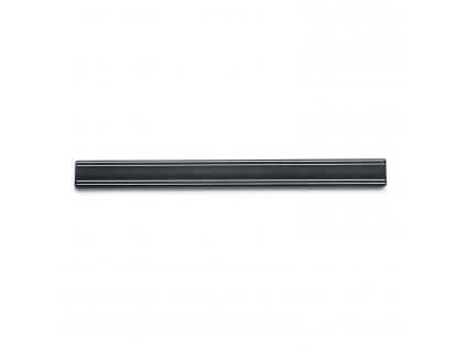 Magnetická lišta na nože 50 cm černá
