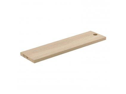 Dřevěné prkénko s otvorem dub 59 x 15 cm SILVA