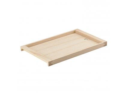 Dřevěný servírovací podnos jasan 42 x 26 cm SILVA ZONE