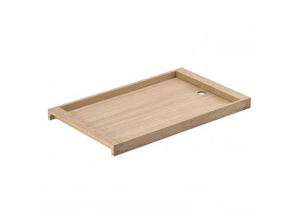 Dřevěný servírovací podnos dub 42 x 26 cm SILVA