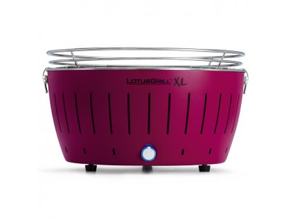 Bezkouřový gril LotusGrill XL fialový