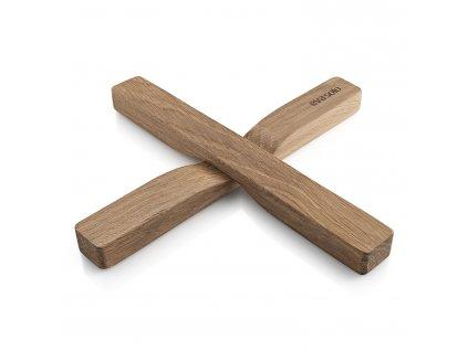 Magnetická podložka pod hrnec dřevěná