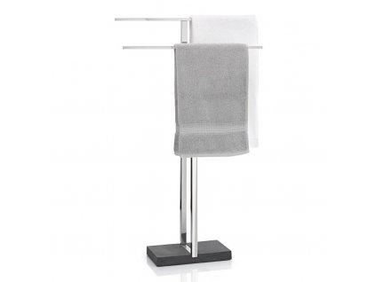 Stojan na ručníky MENOTO leštěný nerez 50 cm